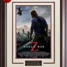 World War Z Framed Movie Poster