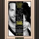 Silver Linings Playbook Poster Framed