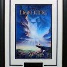 Lion King Mini Movie Poster Framed