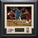 Kevin Durant Autographed Breakaway Photo Display