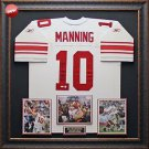 Eli Manning Autographed New York Giants Framed Jersey