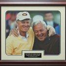 Jack Nicklaus & Arnold Palmer Hall of Fame 11x14 Photo Framed