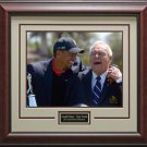 Arnold Palmer & Tiger Woods Wins Arnold Palmer Invitational 11x14 Photo Framed