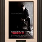 Taken 2 Movie Poster Framed
