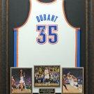 Kevin Durant Signed Oklahoma Thunder White Jersey