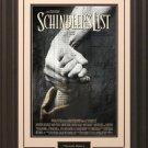 Schindlers List 11x17 Movie Poster Framed.