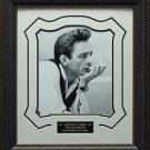 Johnny Cash Portrait 16x20 Photo Framed