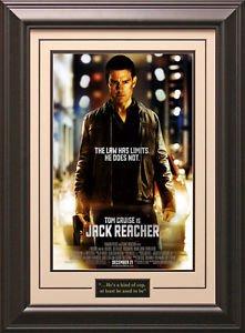 Jack Reacher Framed Movie Poster | Official Poster