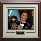 Cristiano Ronaldo FIFA Ballon d'Or Photo Framed