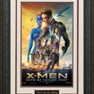 X-Men Days of Future Past Movie Poster Display