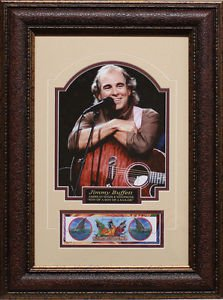 Jimmy Buffett 11x14 Photo Margaritaville Framed