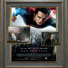 Henry Cavill & Michael Shannon Signed Man of Steel Framed Photo