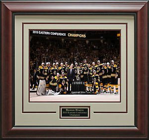 Boston Bruins Eastern Conference Champions Framed Photo