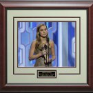 "Brie Larson 2016 Golden Globe Best Actress For ""Room"" 16x20 Photo Framed."
