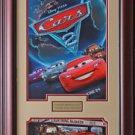 Movie Cars 2 Framed Mini Movie Poster