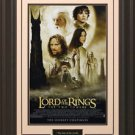 Lord Of The Rings The Two Towers 11x17 Movie Poster Framed