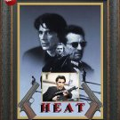 Al Pacino Signed Heat Photo with Movie Poster Framed
