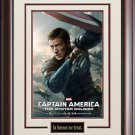 Captain America The Winter Soldier Poster Framed