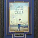 Matthew McConaughey Dallas Buyers Club Signed Poster