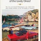 "1963 Ford Ad """"Liveliest of the Lively Ones"""" ... (model year 1963 1/2)"