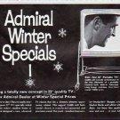 "1963 Admiral Television Ad """"Winter Specials"""""