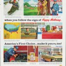"""1963 Humble Oil Ad """"""""All weather"""""""""""