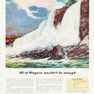 "1957 Fairbanks-Morse Ad """"All of Niagara"""""