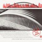 "1957 Universal Atlas Cements Ad """"Tomorrow's Multi-Purpose Building"""""