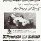 "1957 Firestone Tires Ad """"Race of Tires"""""