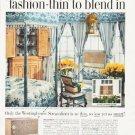 "1957 Westinghouse Ad """"fashion-thin"""""