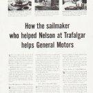 """1957 General Motors Ad """"""""sailmaker"""""""""""