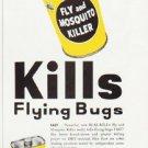 "1957 Real-Kill Ad """"Kills Flying Bugs"""""
