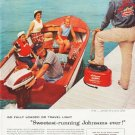 "1957 Johnson Motors Ad """"Go Fully Loaded"""""