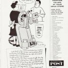 "1957 The Saturday Evening Post Ad """"That does it"""""
