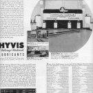 1937 Hyvis Mileage-Metered Lubricants Advertisement