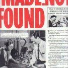 "1937 Mobiloil & Mobilgas ""MADE.NOT FOUND"" Advertisement"