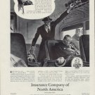 1938 INSURANCE COMPANY OF NORTH AMERICA Advertisement