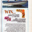 "1967 GLASSPAR Advertisement ""BLUE WATER WINNER!"""