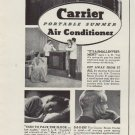 "1937 Carrier Air Conditioner ""Leading Citizens"" Ad"