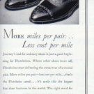 "1937 FLORSHEIM SHOE ""MORE MILES . . ."" Advertisement"