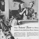 "1937 HIRES ROOT BEER ""IT TASTES GREAT..."" Advertisement"