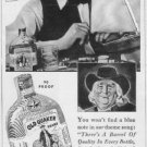 "1937 OLD QUAKER WHISKEY Ad ""SAILING! SAILING!"""