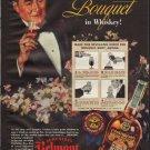 1938 SCHENLEY'S BELMONT BOURBON WHISKEY Advertisement