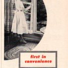 """1953 R*O*W WINDOWS """"FIRST IN CONVENIENCE"""" Advertisement"""