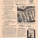 "1953 SPERRY FLOUR ""SUCCESS RECIPES"" Advertisement"