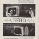 1959 ADMIRAL PORTABLE TELEVISIONS Advertisement