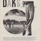 """1959 DAKS TROUSERS Advertisement """"ON THE FAIRWAY"""""""