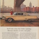 """1960 FORD MERCURY """"YOU'LL LOOK A LONG TIME"""" Advertisement"""