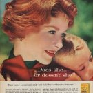 "1960 MISS CLAIROL HAIR COLOR ""SO NATURAL"" Advertisement"