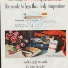"1960 Old Gold Cigarette ""Spin Filter"" Ad"